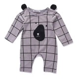 Newborn Infant Baby Boy G*Rl Bear Cotton Romper Jumpsuit Bodysuit Clothes Outfit Intl Diskon Tiongkok