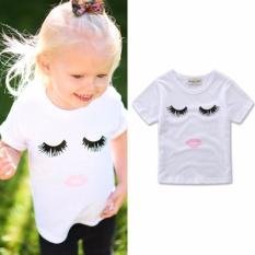Bayi Bayi Anak-anak Baby Girl Romper T-Kemeja Jumpsuit Bodysuit Pakaian Pakaian-Internasional