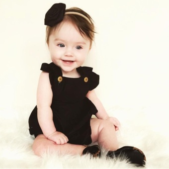 Harga preferensial Bayi Yang Baru Lahir Anak Gadis Musim Panas Kapas Romper  Bodysuit Jumpsuit Pakaian beli sekarang - Hanya Rp66.440 240c66a3cf