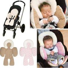 Terbaru Bayi Baby Stroller Kereta Dorong Kursi Pad Reversible Cushion Mat-Intl