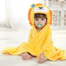 Promo Niceeshop 3D Lion Baby Infant Newborn Hooded Bath Towel Blankets Intl Tiongkok