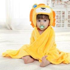 Toko Niceeshop 3D Lion Baby Infant Newborn Hooded Bath Towel Blankets Intl Lengkap Tiongkok