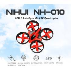 Harga Nihui Nh 010 Mini Drone Quadcopter Lincah Tanpa Kamera Untuk Pemula Warna Merah Hitam