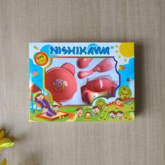 Nishikawa Feeding Set Premium Small 8320 Pink