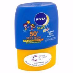 Harga Nivea Sun Kids Original 100 Pocket Size Origin