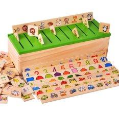 Nixnox Mainan Anak Knowledge Classification Box / Sortasi