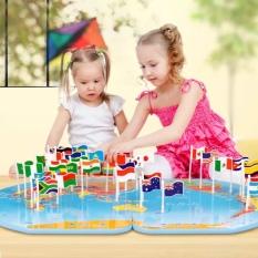 Toko Nixnox Mainan Edukasi Anak Map Classic Knowledge Of The World Nixnox