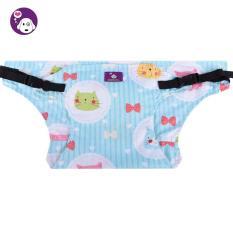 Nonvoful Murni Kapas Balita Baby Makan Kursi Tinggi Rangkaian Booster Travel Outdoor Car Portable Safety Seat Belt Strap, Kitten-Intl