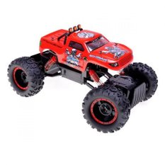 NQD RC Rock Crawler King Off Road 4WD Skala 1:12 Jeep - Merah