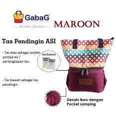 Jual Ntr Gabag Maroon Coolerbag Cooler Bag Tas Asi Di Bawah Harga