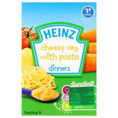 Harga Ntr Heinz Cheesy Vegetables With Pasta Dinners 7M 100Gr Baru Murah