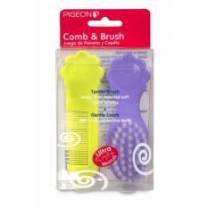 Harga Ntr Pigeon Comb Hair Brush Set Sisir Sikat Rambut Bayi Asli