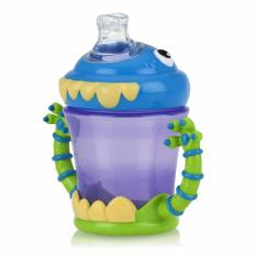 Promo Nuby Monsters Twin Handle Cup 210Ml Multicolor Murah