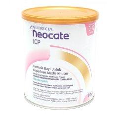 Spesifikasi Nutricia Neocate Lcp 12M 400Gr Lengkap