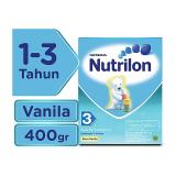 Nutrilon 3 Susu Pertumbuhan Vanila 400Gr Diskon Akhir Tahun