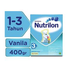 Spesifikasi Nutrilon 3 Susu Pertumbuhan Vanila 400Gr Terbaru
