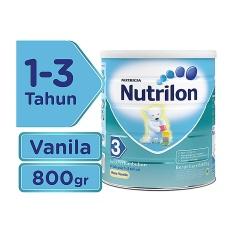 Miliki Segera Nutrilon 3 Susu Pertumbuhan Vanila 800Gr