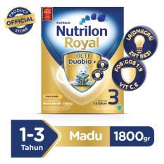 Harga Nutrilon Royal 3 1800G Susu Pertumbuhan Rasa Madu Fullset Murah