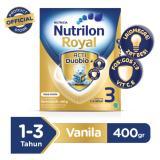 Jual Nutrilon Royal 3 Pronutra Susu Pertumbuhan Vanila 400Gr Nutrilon Original