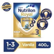Jual Nutrilon Royal 3 Pronutra Susu Pertumbuhan Vanila 400Gr Ori