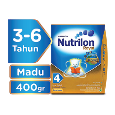 Beli Nutrilon Royal 4 Acti Duobio Susu Pertumbuhan Honey 400Gr Online Terpercaya
