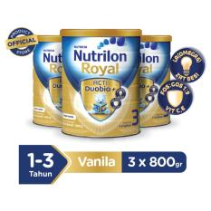 Review Nutrilon Royal Acti Duobio 3 Vanilla 800Gr Bundle 3 Kaleng