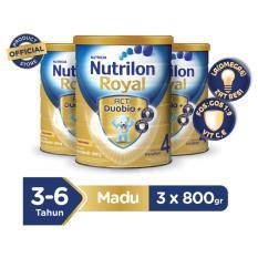Promo Nutrilon Royal Acti Duobio 4 Madu 800Gr Bundle 3 Kaleng Jawa Barat