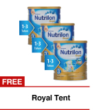 Review Nutrilon Royal Pronutra 3 Susu Pertumbuhan Madu 800Gr Bundle 3 Kaleng Free Royal Tent Terbaru