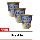 Promo Nutrilon Royal Pronutra 3 Susu Pertumbuhan Vanila 800Gr Bundle 3 Kaleng Freeroyal Tent Indonesia