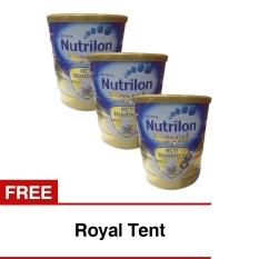 Beli Barang Nutrilon Royal Pronutra 3 Susu Pertumbuhan Vanila 800Gr Bundle 3 Kaleng Freeroyal Tent Online