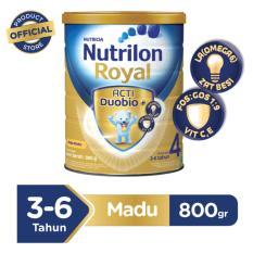 Spesifikasi Nutrilon Royal Pronutra 4 Susu Pertumbuhan Madu 800Gr Terbaik