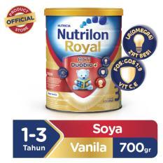Diskon Nutrilon Royal Pronutra Soya 3 Rasa Vanila 700 Gr
