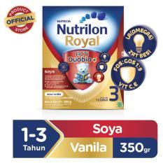 Harga Nutrilon Royal Soya 3 Pronutra Susu Pertumbuhan Vanilla 350Gr Branded