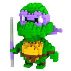 OBRAL MURAH LOZ Lego Nano Block Nanoblock Ninja Turtle Donatello Purple