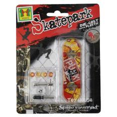 OBRAL MURAH Mainan Skateboard Finger Board Skatepark Isi 1 Pcs/ Diecast Skateboard