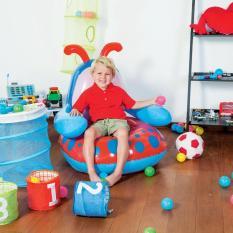 OBRAL MURAH Sofa Angin Anak Lebah / Bee Blue Red Chair Bestway 75061