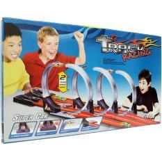 Jual Obral Murah Track Racing Hotwheels Halilintar 3 Jalur Branded Original