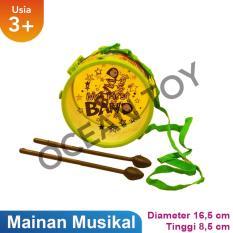 Ocean Toy Drum Set Mainan Edukasi Anak OCT0106-2 - Multicolor