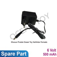 Ocean Toy Spare Part Charger 6v 500 mah Ride On Motor Halilintar/Tornado