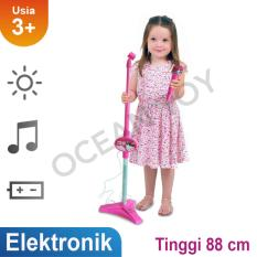 Ocean Toy Standing Microphone Hello Kitty Mainan Musikal Anak - Pink