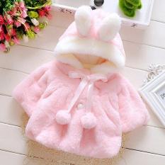 Oh Bayi Bayi Perempuan Bulu Menebal Hangat Mantel Dengan Hat 70Cm Oem Murah Di Tiongkok