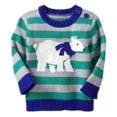 Old Navy - Striped Sweater - Biru