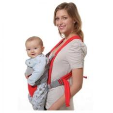 Oleno Baby Carrier Gendongan Ransel Double Fungsi & Saku Color Marbles Pink - Gendongan Depan Belakang-Multicolor