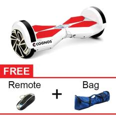 Onix Hoverboard Segway 8 Two Wheel Balance Smart Scooter - White