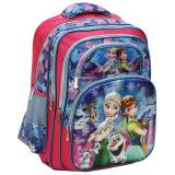 Spesifikasi Onlan Disney Frozen Fever 5D Timbul Hologram Ransel Sch**l Bag Sd 5 Kantung Besar Import Merk Onlan