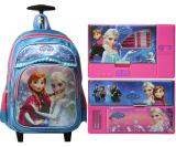 Review Pada Onlan Set Troley Frozen Import Dan Kotak Pensil Blue