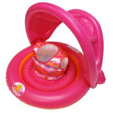 Onlan Swim Sch**l 2 In1 Baby Boat Ban Renang Pelampung Balita Pink Di Dki Jakarta