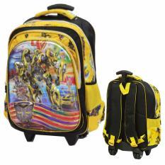 Harga Onlan Tas Trolley Anak Laki Laki 5D Timbul Ukuran Besar Sd Yellow Merk Onlan