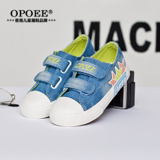 Jual Cepat Opoee Denim Anak Laki Laki Dan Sepatu Anak Perempuan Anak Anak Sepatu Kanvas