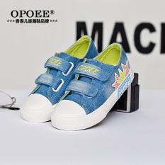 Harga Opoee Denim Anak Laki Laki Dan Sepatu Anak Perempuan Anak Anak Sepatu Kanvas Termurah